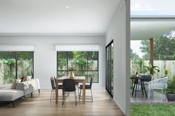 Northrise Lawnton- Living room with timber flooring